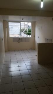 Apartamento no loteamento bertolini de 02 dormitórios sala cozinha, lavanderia e banheiro, estacionamento rotativo não tem sacada.