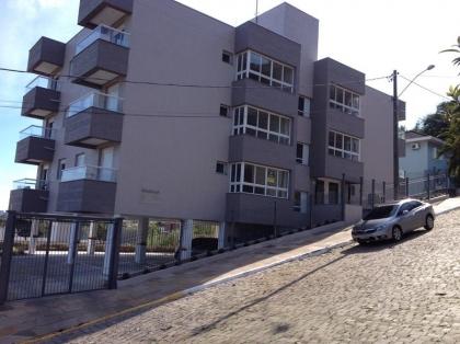 Apartamento de 2 dormitórios novo no bairro Santa Rita, Loteamento Bertuol,  em Bento Gonçalves com 2 dormitórios 59,57m² AP, 2 sacadas, churrasqueira e garagem. Água quente, espera para Split e piso porcelanato e laminado.