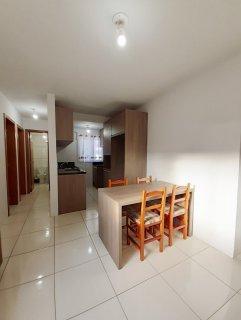 Apartamento com 2 dormitórios  sala e cozinha banheiro e área serviço uma vaga de garagem prédio sem elevador  Aceita FGTS  Finaciavel  Pronto para morar