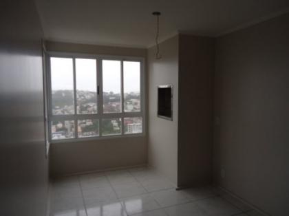 Apartamento de 2 dormitórios, NOVO, sala, cozinha, banheiro, churrasqueira, pintura em massa corrida, gesso, garagem coberta.