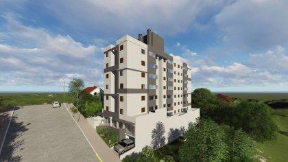 Apartamento de 02 dormitórios no Borgo em excelente localização.  Financiado pelo Programa Minha Casa Minha Vida da Caixa Econômica Federal. Sala de estar integrado a cozinha e área de serviço, banheiro, 02 dormitórios. Próximo a escolas, fruteiras, lojas, postos de combustíveis, industrias e praças de lazer.  OPCIONAIS ABAIXO (Consulte Valores): - Água Quente - Gesso liso (em todo apartamento) - Porcelanato com gloss (substitui o padrão) - Azulejo retificado (substitui o padrão) - Laminado por porcelanato (sala e circulação) - Espera para split   PRAZO DE ENTREGA: JANEIRO DE 2023