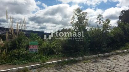 TOMASI Imóveis vende, excelente terreno em área nobre de Bento Gonçalves medindo 573,30m² de área total.