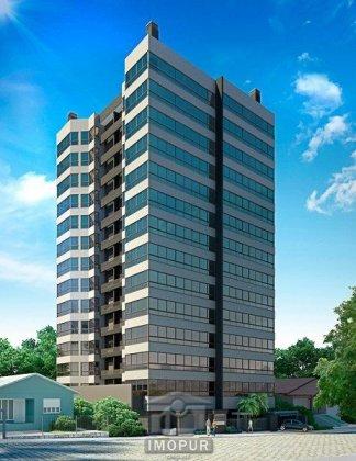 Amplo dois dormitórios Edifício novo Apartamento nunca habitado Salão de festas Elevador Box duplo  *Imagens ilustrativas - o apartamento não possui mobília