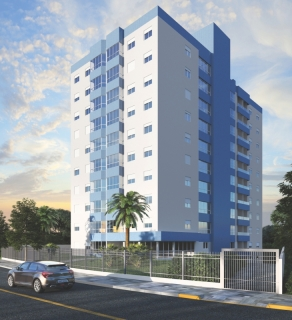 Residencial Humaitá - Próximo ao centro, 2 elevadores . Previsão de entrega da obra 2018. Valor referente ao apartamento 101. Box valor de  38 incc.