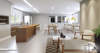 Em Construção - Ótima Localização. Apartamento com 01 dormitório,  peças funcionais, Cozinha Integrada, Churrasqueira; Opções de personalização. Venha saber mais, contate-nos.
